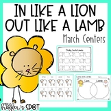 March Lion and Lamb Centers