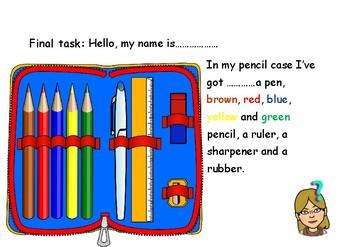 In my pencil case