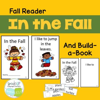 In the Fall Emergent Reader and Build-A-Book {Young Reader