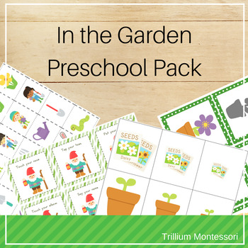 In the Garden- Phonological Awareness for Spring