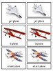 In the Sky Montessori Aviation 3-part cards