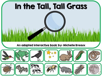 In the Tall, Tall, Grass Adapted  Book {SPED, Early Childh