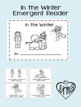 In the Winter Emergent Reader