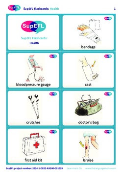 In the house Flashcards in English