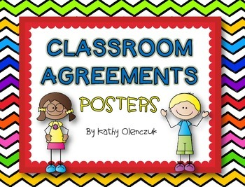 Classroom Agreements Posters