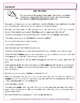 Inappropriate Shifts in Verb Tense  Practice  Worksheets -