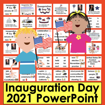 PowerPoint: NO PREP! Inauguration Day 2017 - 2 Levels + Il
