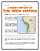 Inca Empire - Reading, Questions, Map Activity, Article Wr