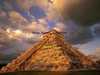 Incas, Aztecs, & Mayans Jeopardy Fun