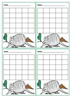 Incentive Chart (Armadillos)