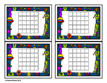Incentive Chart or Reading Log: Alien Theme