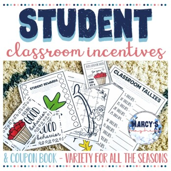 Spring Incentive Chart with Coupon Book for Good Behavior