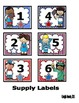 USA Kids Incentive Charts and Labels to Support Classroom