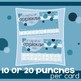 Incentive Punch Cards: Bubble Design