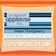 Incentive Punch Cards: Striped Design