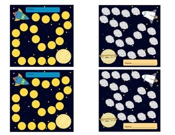 Incentive Sticker Charts Galaxy Theme