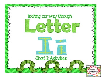 Inching our way through Letter Ii:  Short Ii Activities