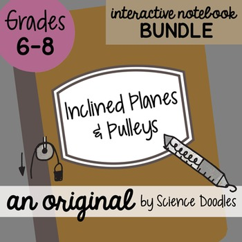 Inclined Planes and Pulleys Science Doodles Interactive No