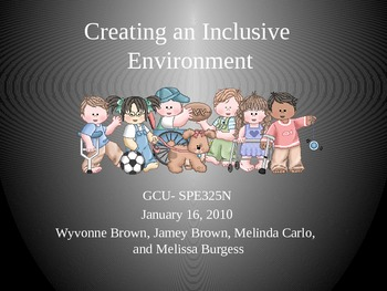 Inclusion Power Point