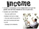Income & Savings Powerpoint for FCS Interpersonal Studies Course