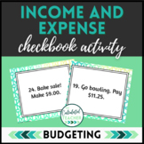 Income and Expense Task Cards