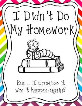Incomplete Homework Binder