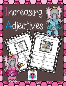 Increasing Adjectives