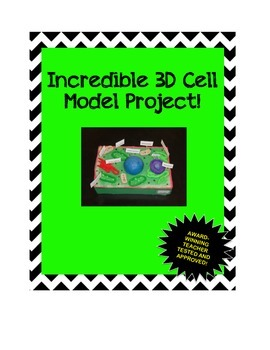 Incredible 3D Cell Model Project!
