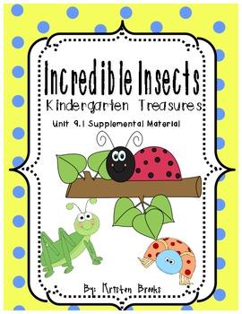 Incredible Insects Kindergarten Treasures 9.1 Supplemental
