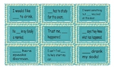 Indefinite Pronoun Cards