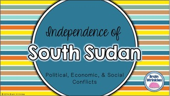 Independence of South Sudan (SS7CG2)