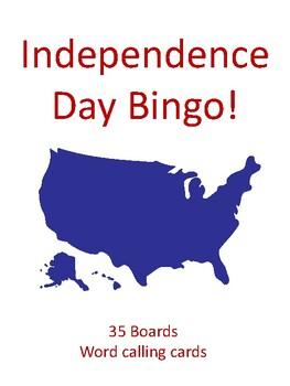 Independence Day BINGO!