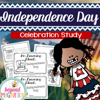 Independence Day Celebration Study Fact Booklet for Little