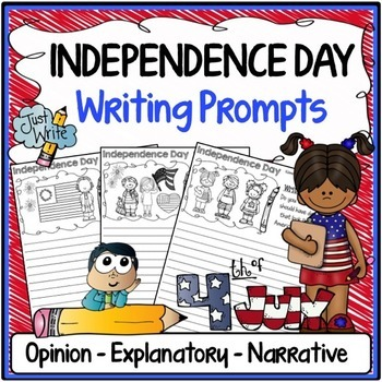 Independence Day Writing Prompts {Narrative, Informative &