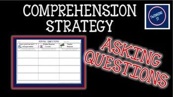Independent Book Activity and Graphic Organizer for Questi