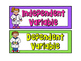 Independent & Dependent Variables Sorting Activity *Scient
