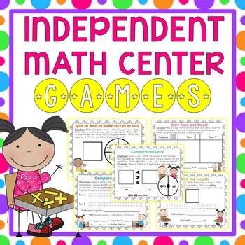 Independent Math Center Games