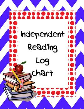 Independent Reading Log Chart