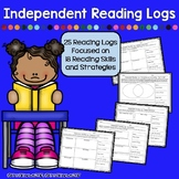 Independent Reading Logs - 20 Logs, Multiple Reading Skill