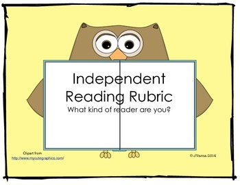 Independent Reading Rubric