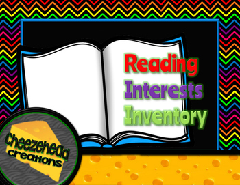 Reading Interests Inventory for Intermediate & Middle Scho