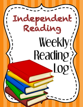 Independent Reading Weekly Log