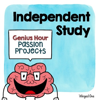 Independent Research Study Planning Pages {Passion Project
