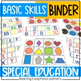 Basic Skills Mega Binder- Special Education