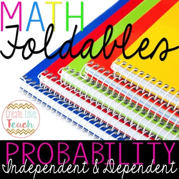 Independent and Dependent Events in Probability: Foldable