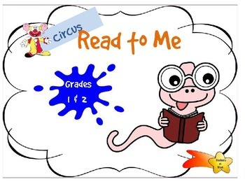 Reading Online - Circus - Grades 1 & 2 - Independent activity