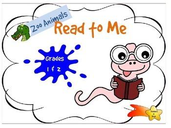 Reading Online - Zoo Animals - Grades 1 & 2 - Independent