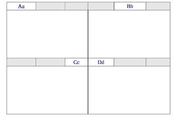Index card box dividers