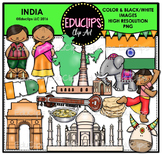 India Clip Art Bundle