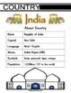India Themed Activity pack / Worksheet set + Flashcards